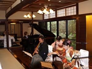 日本料理 よし川 和楽器&シンセサイザーで奏でる「にっぽんのうた」VOL.2