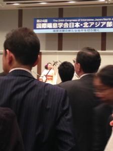 国際学会懇親会 津軽三味線演奏