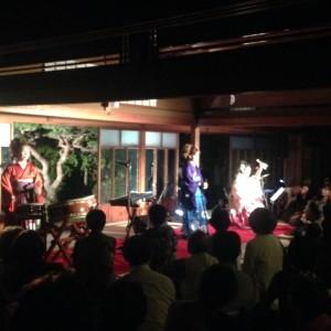 六華苑十六夜コンサート「民謡バンド こまち」