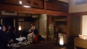 徳川園 蘇山荘 津軽三味線