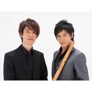 楽器ユニット 『松村湧太×明石幸大』 尺八・ピアノ