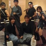 「津軽三味線演奏と忍者ショー」