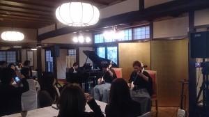 津軽三味線、クラシックピアノ、和楽器コンサート